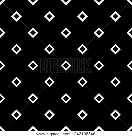Tile Black And White Background Or Vector Pattern