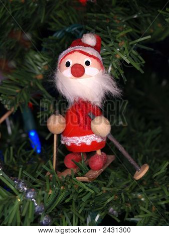 Sking Santa
