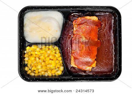 Tv Dinner Of Ribs