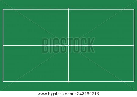 Flat pin pong table vector photo free trial bigstock flat pin pong table top view of ping pong field with line template vector maxwellsz