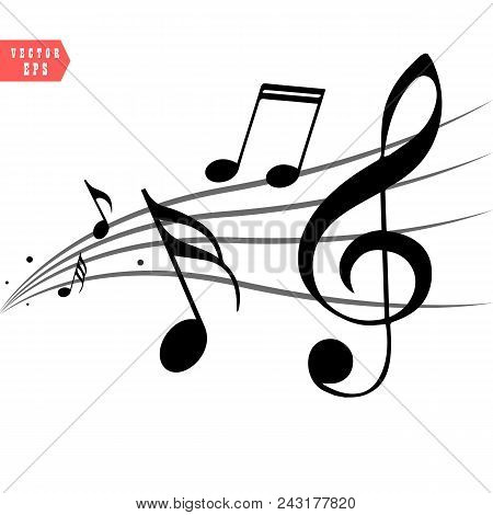 Free Musical Notes Vector Art   Musicals, Small quote tattoos, Music notes