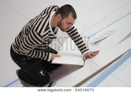 Workers Laid Laminate