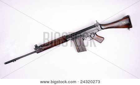 British L1A1 assault rifle.