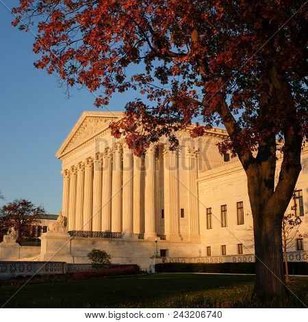 The United States Supreme Court - Washington D.C. United States of America