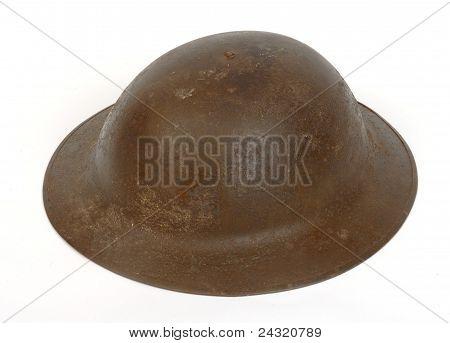 British Great War helmet