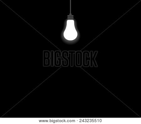 Lamp In Dark. Abstract Background. Eps10. Vector Illustration Abstract Illustration Eps10. Graphic B