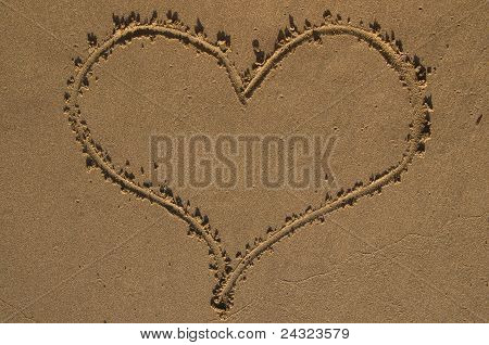 Heart on send