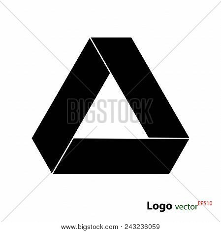 Drive Logotype, Vector Flat Icon Isolated On White Background, Stock Illustration For Web Design And