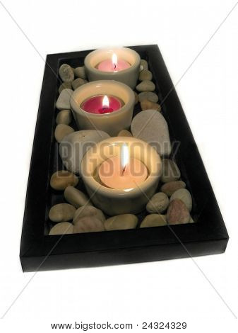 Small candles decor