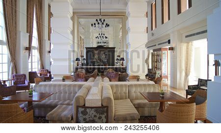 Pulau Langkawi, Malaysia - Apr 4th 2015: Inside The Danna Luxury Hotel On Langkawi Island. The Danna