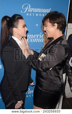 LOS ANGELES - MAY 31:  Kyle Richards, Kris Jenner at the