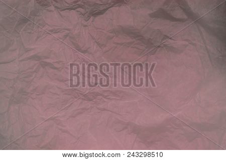 Background of grey and purple color crease and crumpled paper surface poster