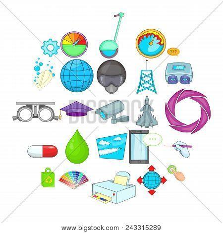 Undertaking Icons Set. Cartoon Set Of 25 Undertaking Vector Icons For Web Isolated On White Backgrou