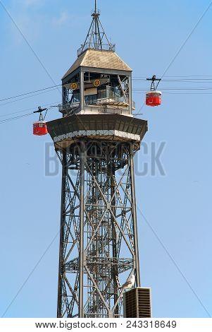 Port Vell Aerial Tramway, Barcelona, Spain
