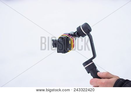 Stabilizer Self Made For The Action Camera