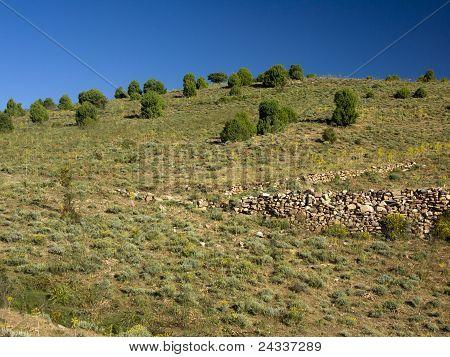 Landscape Of Ogliastra, Sardinia, Italy
