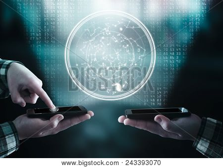 Transfering Data From A Smartphone To Another One.