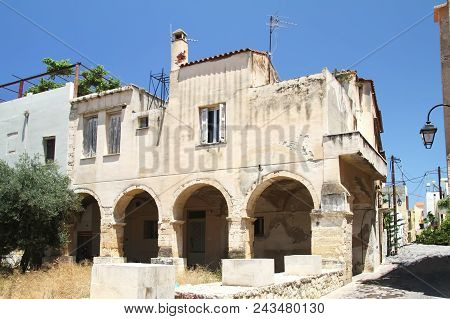 Building Of The Former Monastery Of St. Nicholas In Crete In Chania, Founded By The Dominicans