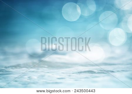 water of tropical sea