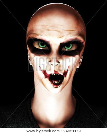 Alien Psycho Clown