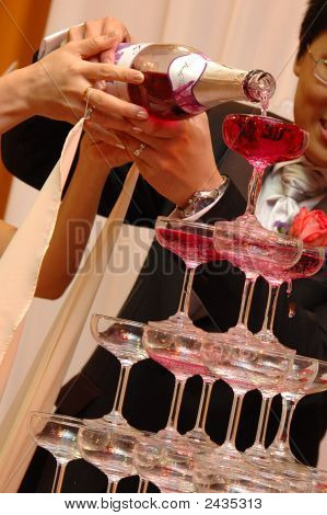 Couple Pouring Wine