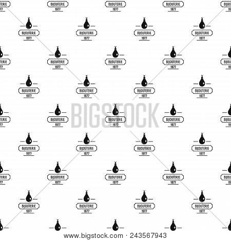 Bijouterie Pattern Vector Seamless Repeat For Any Web Design