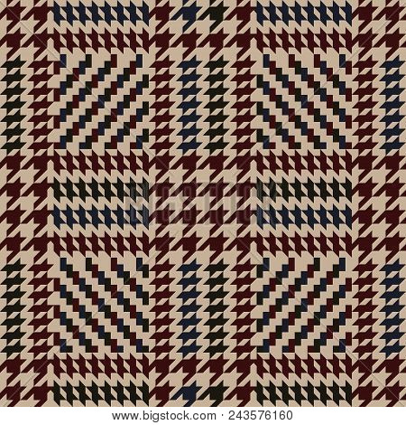 Check Fashion Tweed Color Seamless Pattern For Fashion Textile Prints, Wallpaper, Wrapping, Fabric I