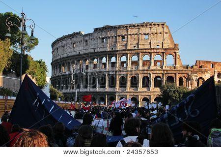 Rome 15 october 2011