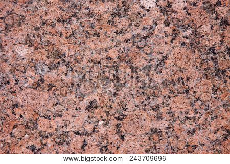 texture of red granite - natural background