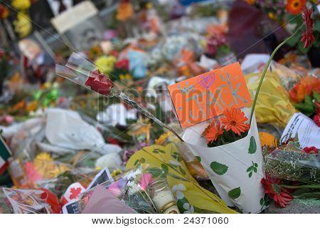 Jack Layton - Chalk Memorial