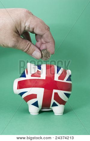 Saving British Pounds