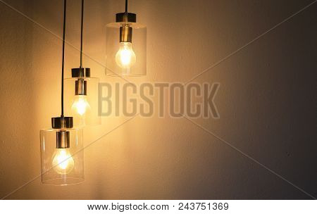 Vintage Luxury Interior Lighting Lamp For Room Decor.