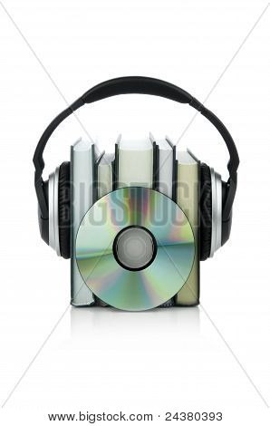 Audiobooks concept