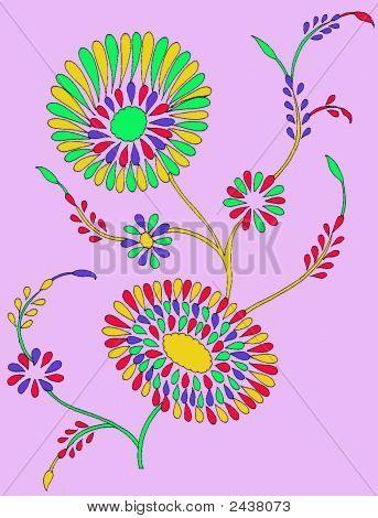 Textile Design Pattern