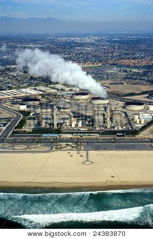 Smoking Power Plant