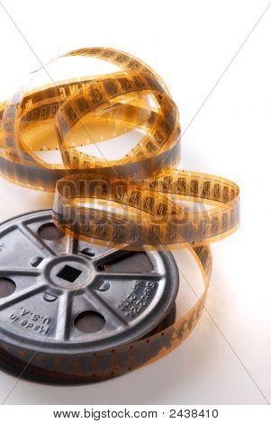 Vintage Movie Reel And Film