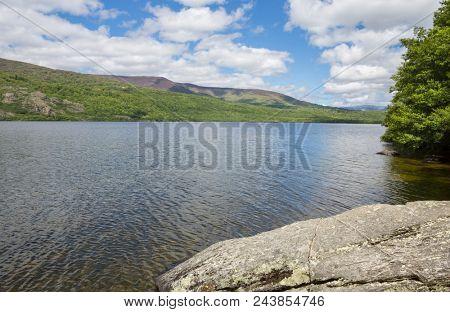 Lake of Sanabria, near Puebla de Sanabria, Castilla y Leon, Spain