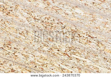 Shot of wooden textured chipboard background, close up poster