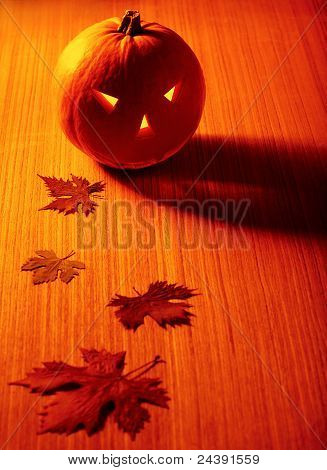 Halloween Glowing Pumpkin