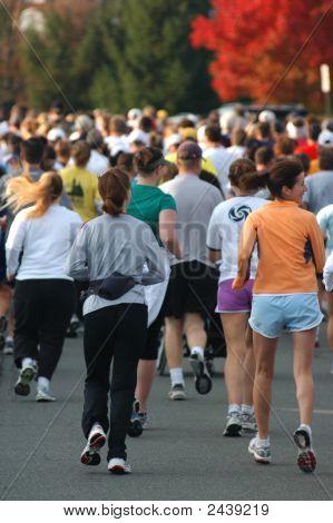 Start Of 10K Running Race