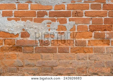Brick Wall Texture Pattern For Design Or Background