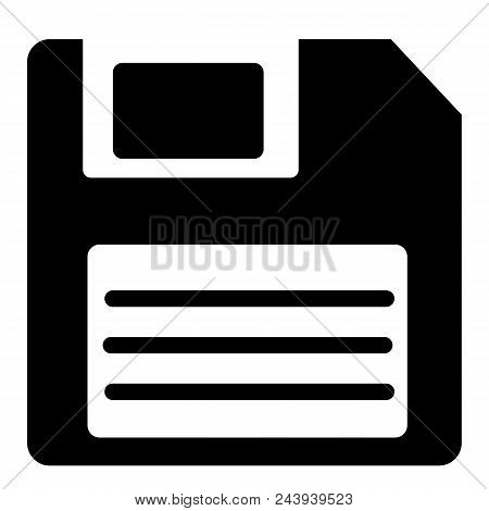 Save Icon In Trendy Flat Style On White Background. Save Creative Symbol For Your Web Site Design, L