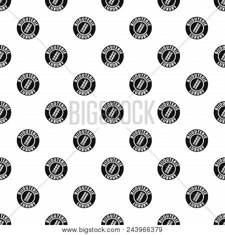 Bijouterie Luxury Pattern Vector Seamless Repeat For Any Web Design
