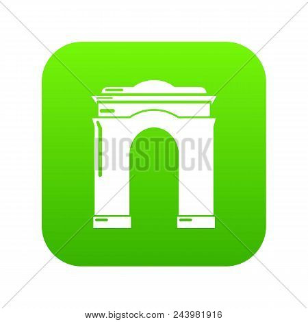 Archway Big Icon. Simple Illustration Of Archway Big Vector Icon For Web