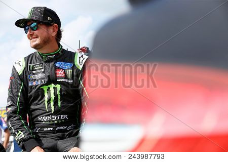 June 01, 2018 - Long Pond, Pennsylvania, USA: Kurt Busch (41) hangs out on pit road before qualifying for the Pocono 400 at Pocono Raceway in Long Pond, Pennsylvania.