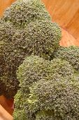 broccoli wood bowl 267 poster