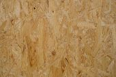 plywood  texture,   osb  board closeup - construction background - poster