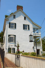 Old Southern Home On Hill
