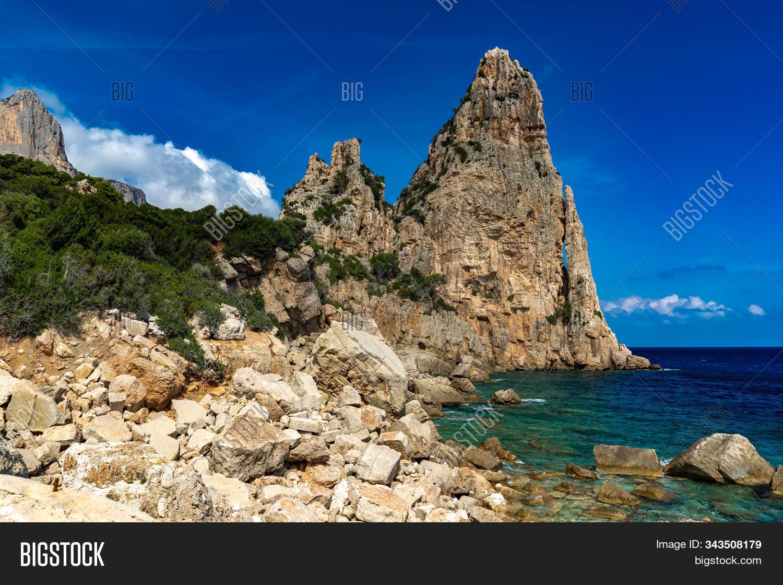 Pedra Longa Baunei   Image & Photo Free Trial   Bigstock