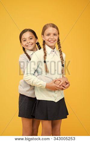 My Dear Friend. First School Day. Sisterhood And Friendship. School Friendship. Support And Friendsh